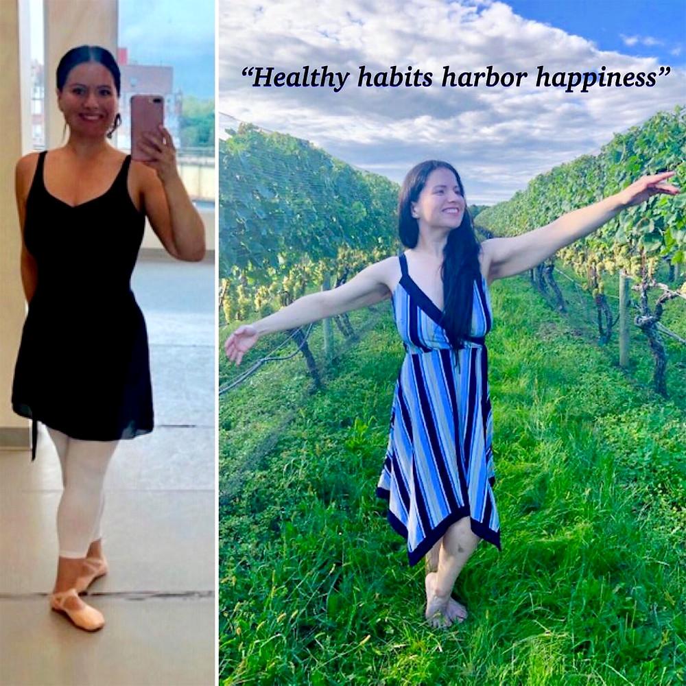 """Healthy habits harbor happiness!"""