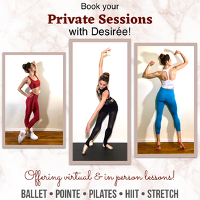 Book Your Private Online Sessions Now!
