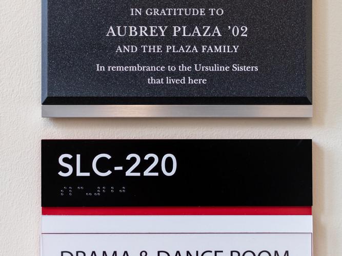 ADA Signage and Plaque