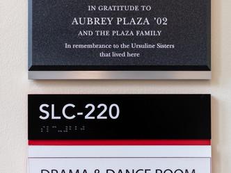 Plaque and ADA Signage