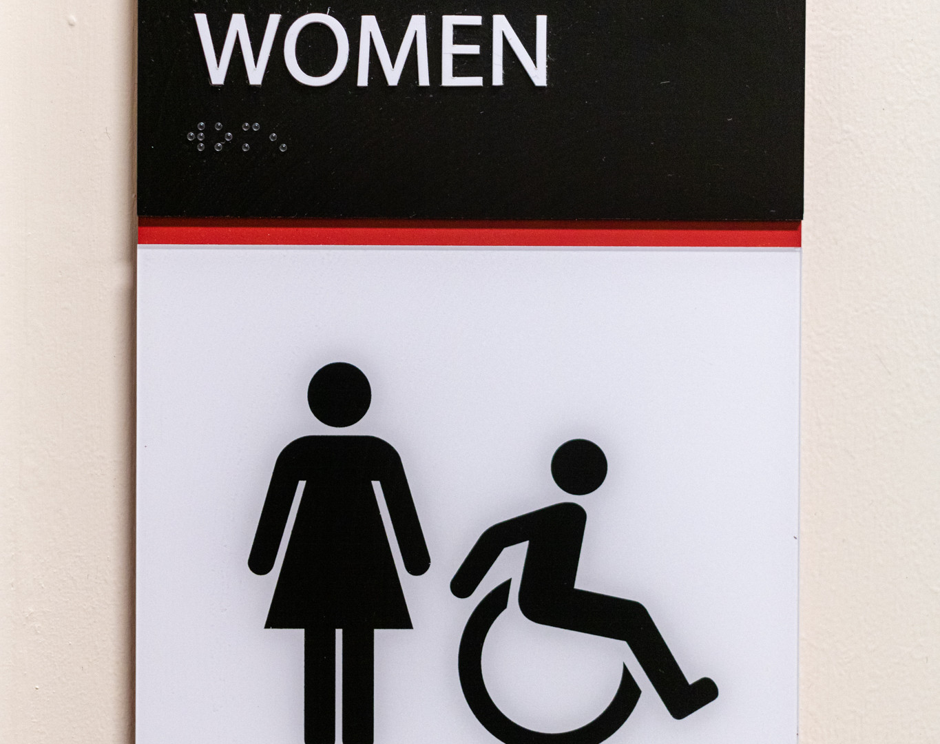 ADA Bathroom Signage
