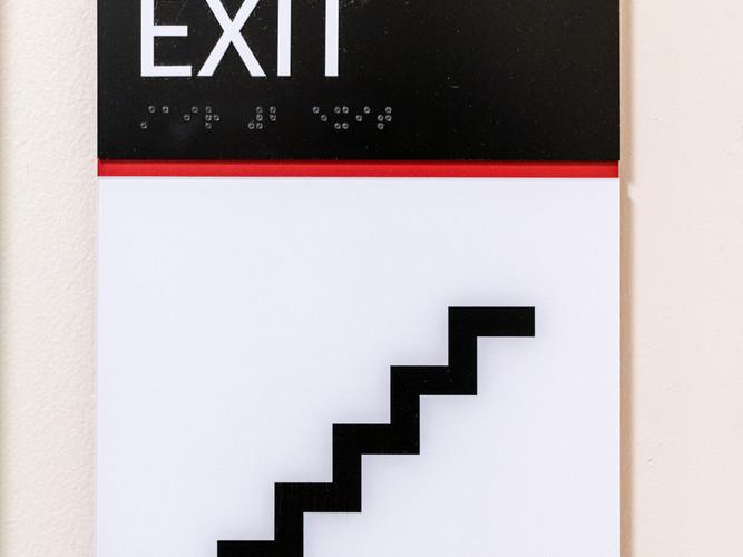 ADA Exit Signage