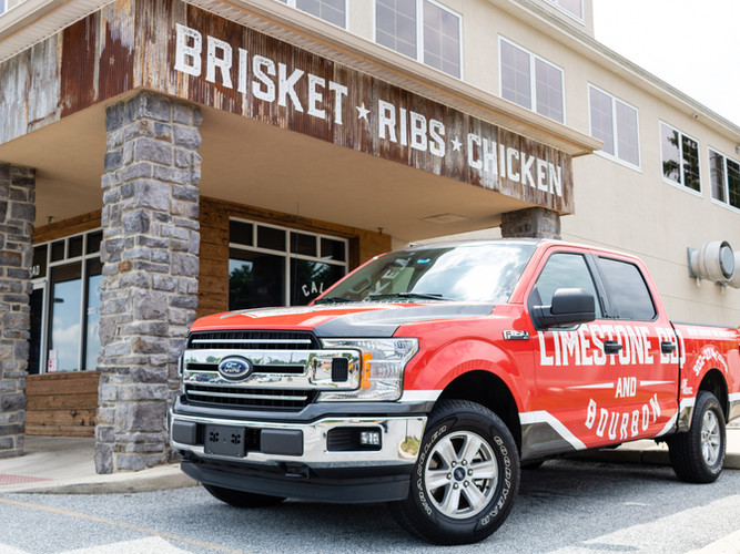 Vehicle Wrap and Exterior Signage