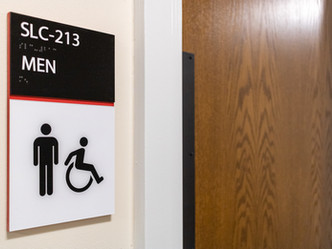 ADA Bathroom Signage