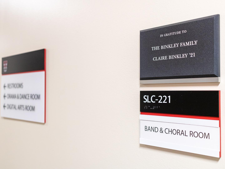 ADA Directional Interior Signage