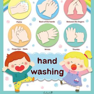 『手洗いとクリエイティブは世界を救う』