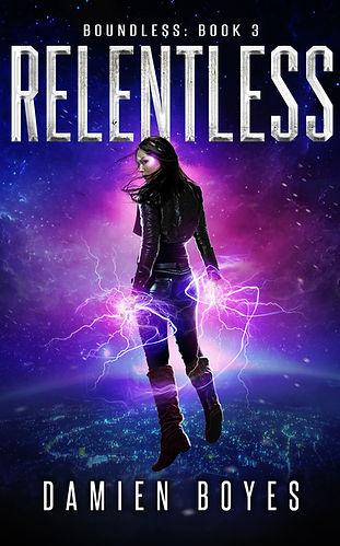 Relentless by Damien Boyes - Ebook Small