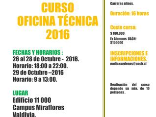 CURSO DE OFICINA OCTUBRE 2016