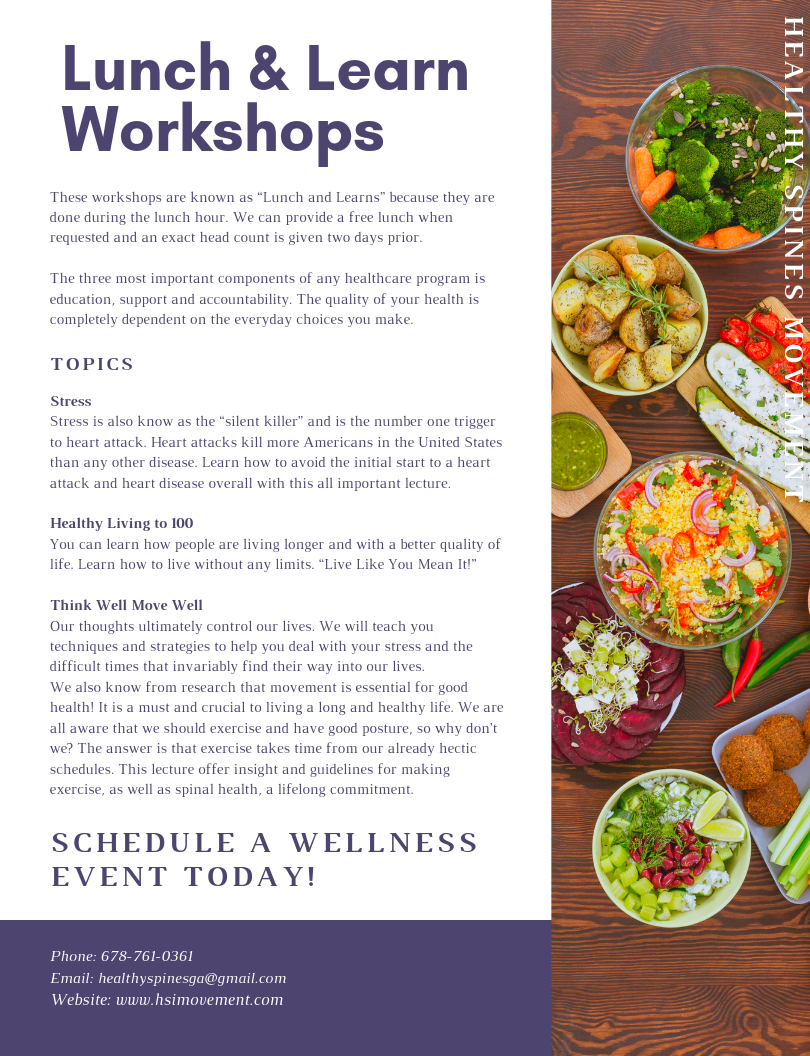 Lunch & Learn Events