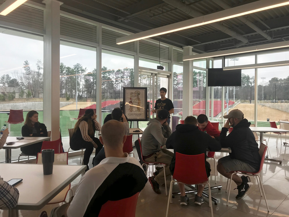 Lunch Workshop for Atlanta United Training Facility