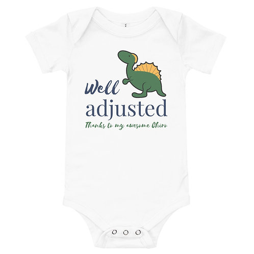 Well Adjusted Baby Boy Onesie