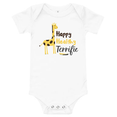 Happy Healthy Terrific Onesie