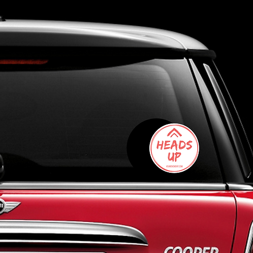 Personalized Window Decal