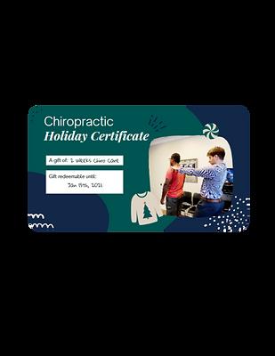 2 Week Pass Chiro Gift Card