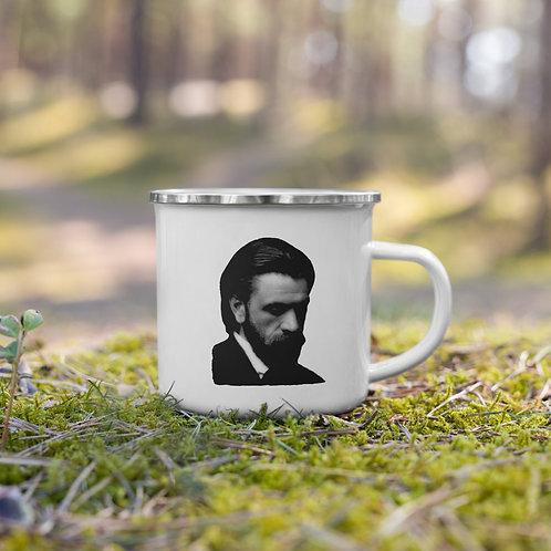 BJ Palmer Quote   Enamel Mug