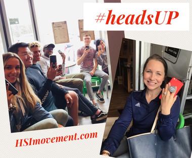 #HeadsUP Movement is Underway