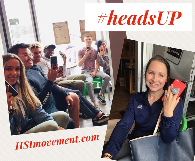 #HeadsUP Movement is Underway