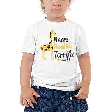 Happy Healthy Terrific | Toddler Short Sleeve Tee