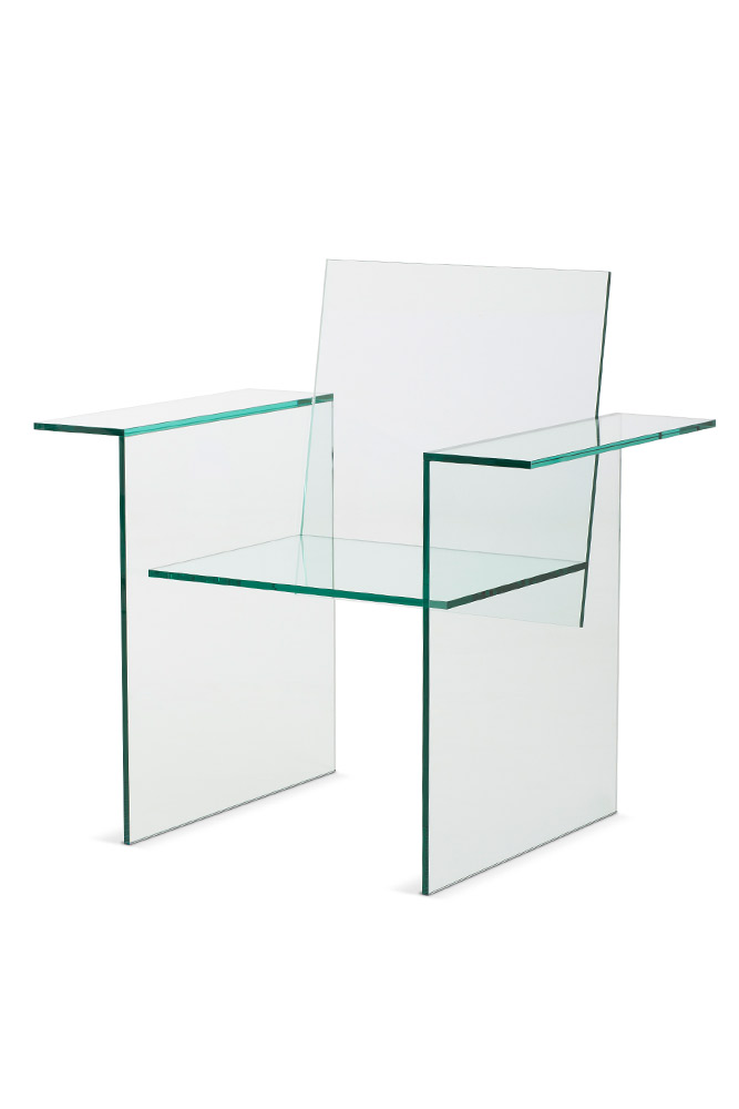 Shiro Kuramata, Glass Chair