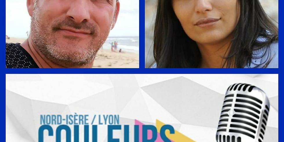 Couleurs FM Lyon Sonia Barkallah l'invitée de Cédric Legrain
