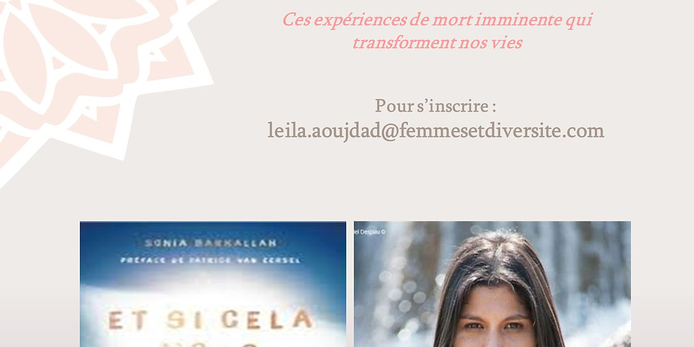 Le Book Club de Femmes et Diversité reçoit Sonia Barkallah