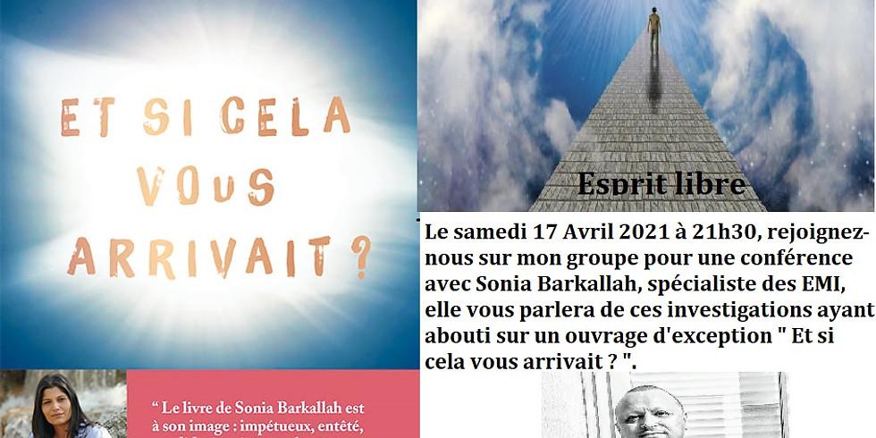 Sonia Barkallah l'invitée d'Esprit libre ( groupe Facebook)