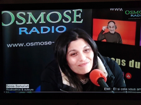 Sonia Barkallah l'invitée de Serge Casas sur Osmose Radio.