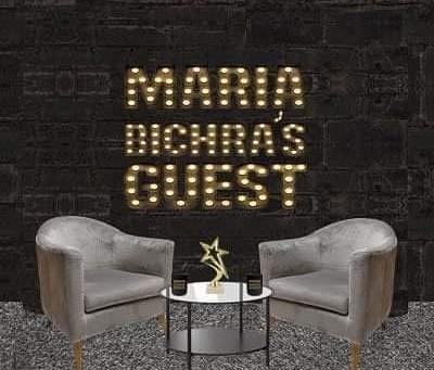 L'invitée de Maria Bichra sur Instagram