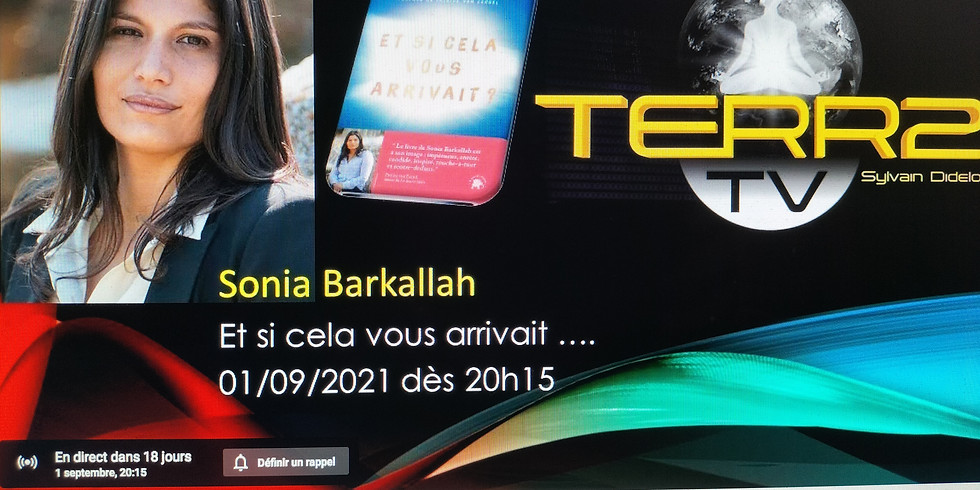 Sylvain Didelot reçoit Sonia Barkallah