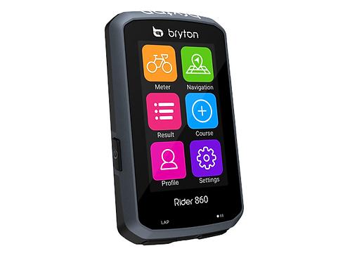 "Bryton Rider 860E GPS Computer 2.8"" Farge, 85+ funksjone"