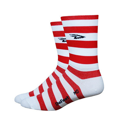 """Aireator 5"""" D-Logo Stripers Red/White"""