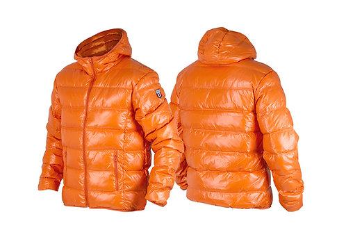 Dunjakke Unisex oransje