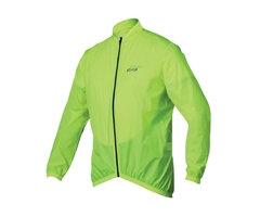 Regnjakke, Polyester, formsydd Neon Gul