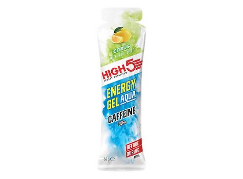 HIGH5 EnergyGel Aqua Koffein Sitrus 66gr