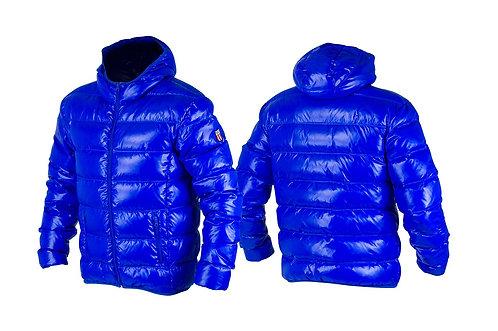 Dunjakke Unisex blå