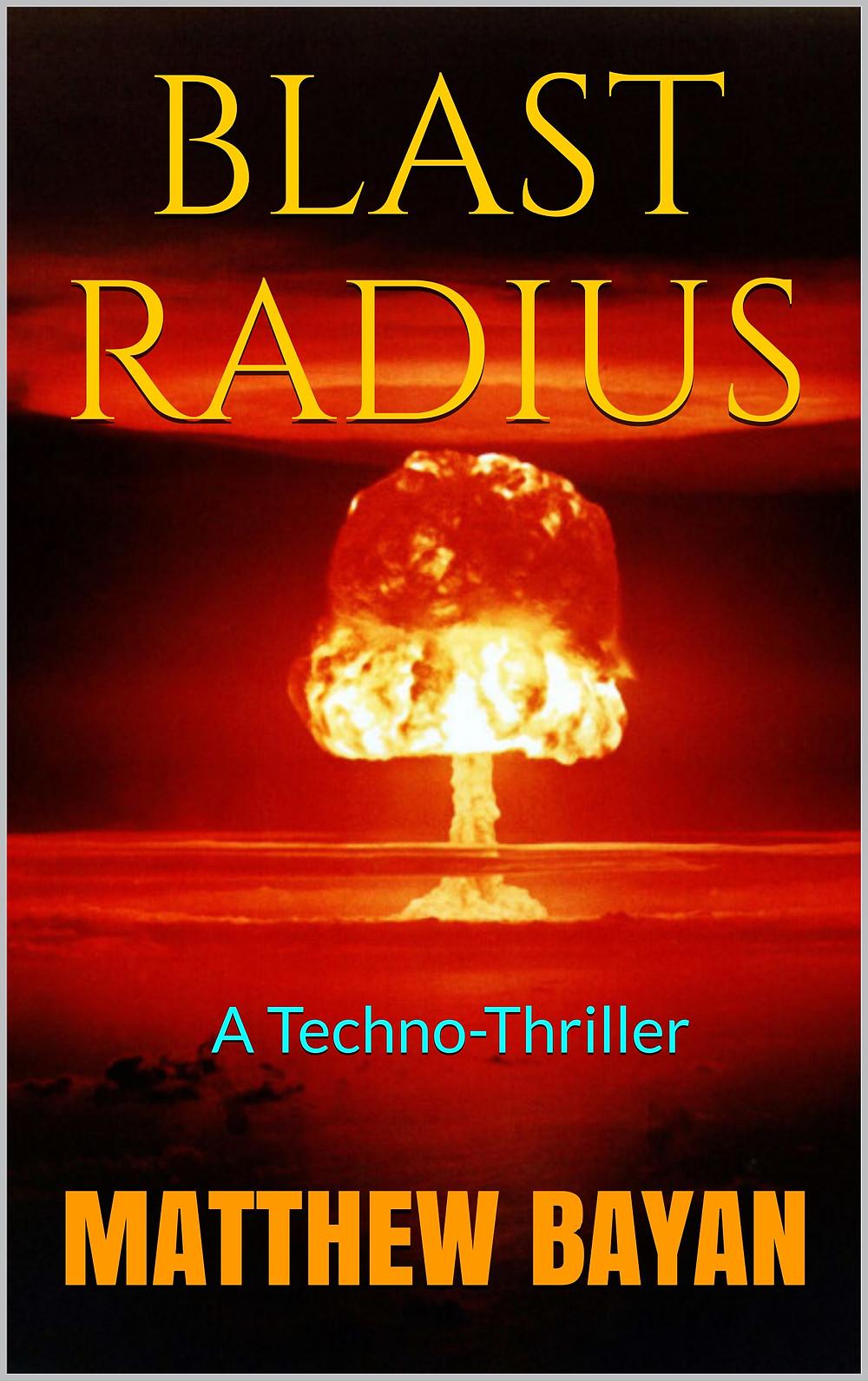 Need a hot summer read? Try BLAST RADIUS. Click on image.