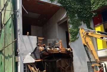 取壊し中の建物の滅失登記