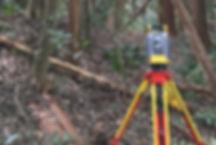 現地調査と測量