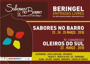 SABORES NO BARRO - 23 A 25 DE MARÇO 2018