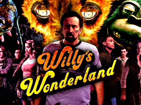 Friday Night Fright Review: Willy's Wonderland (2021)