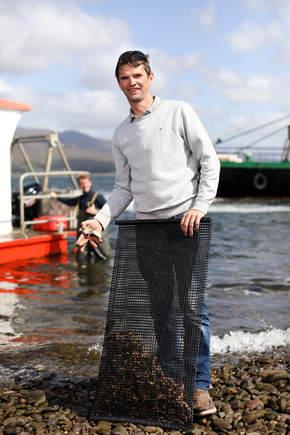Captain Tony, 3rd generation fishermen.