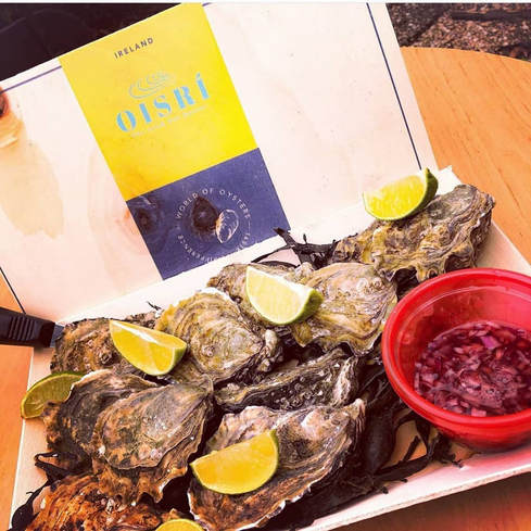 Oisrí are proud to be partnered with the World Of Oysters and distribute worldwide.