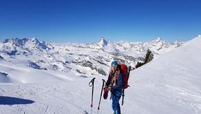 Was macht Saskia Mooser, Skilehrerin der Skischule Jaun, während des Sommers?