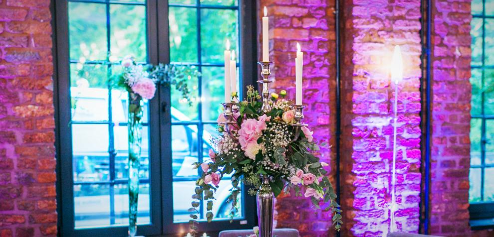 Atelier Eupen, Hochzeit im Industrie-Style