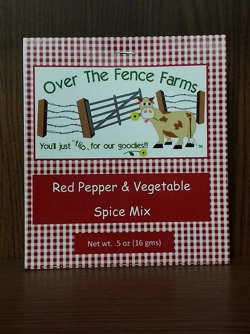 Red Pepper & Vegetable Spice Mix
