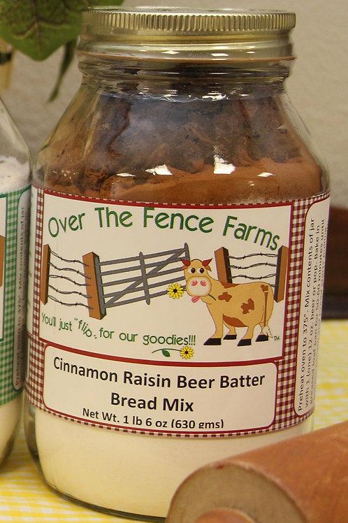 Cinnamon Raisin Beer Batter Bread Mix