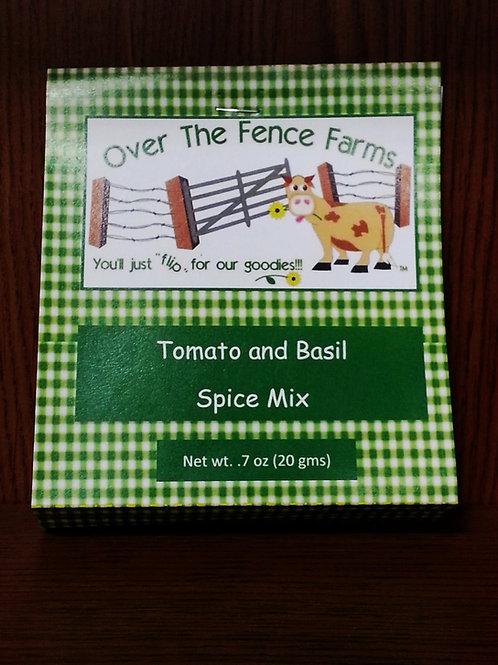Tomato Basil Spice Mix
