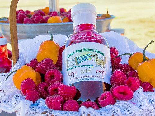My! Oh! My! Raspberry Habanero Sauce