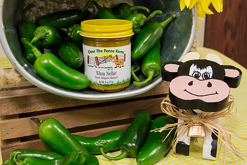 Whoa Nellie - Sweet Jalapeno Mustard