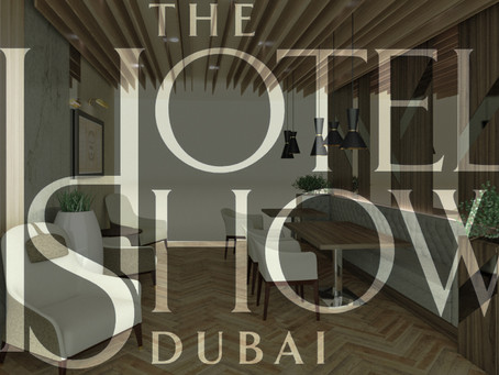 @ THE HOTEL SHOW DUBAI  -  VISIT US AND CHECK-OUT OUR LATEST CREATIONS!